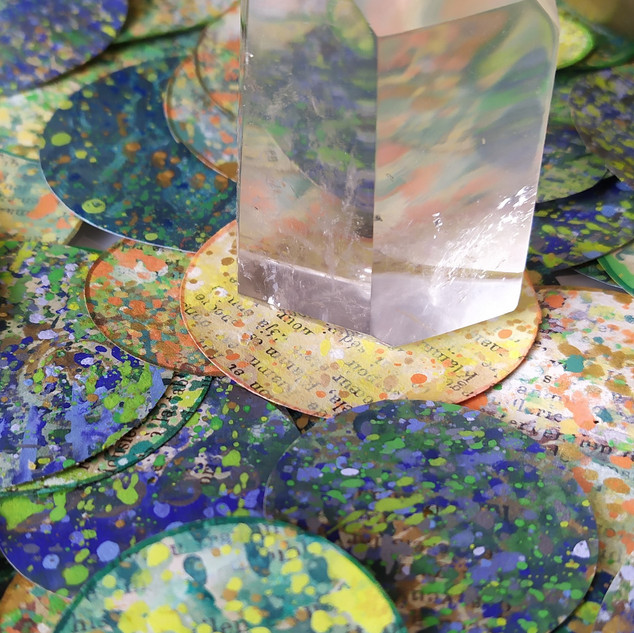 Fenêtre sur la création : Les bulles de couleurs