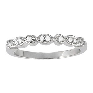 Diamond Band Right Hand Ring
