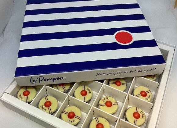 Boîte de 25 pompons de Brest