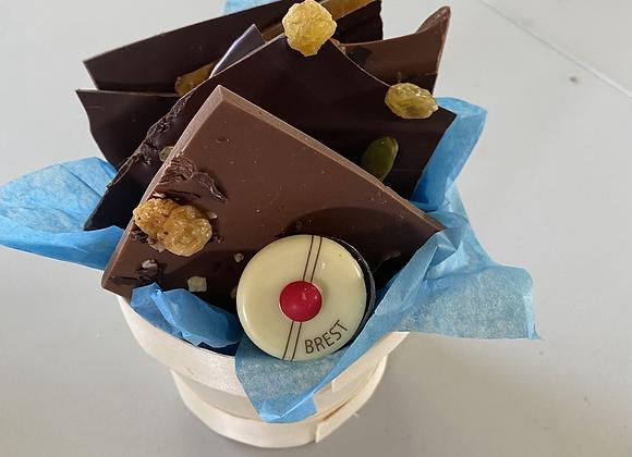 Bouquet de feuilles de chocolat 150 gr