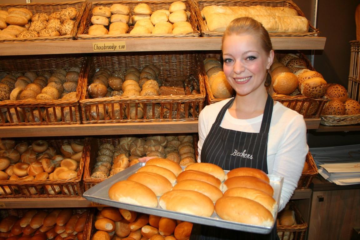 Brood bij bakkerij Beckers, Lummen