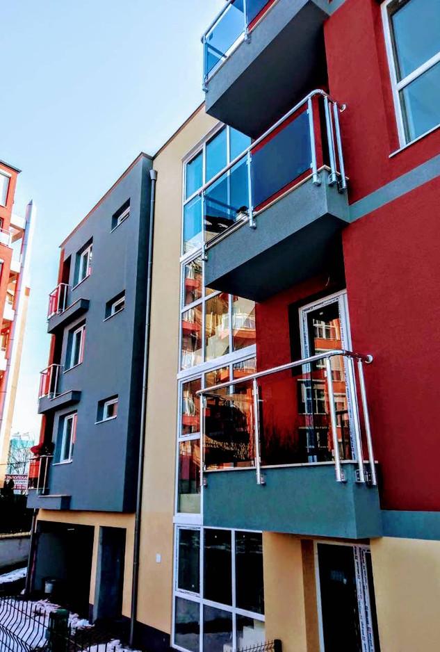 Sofia, residential building