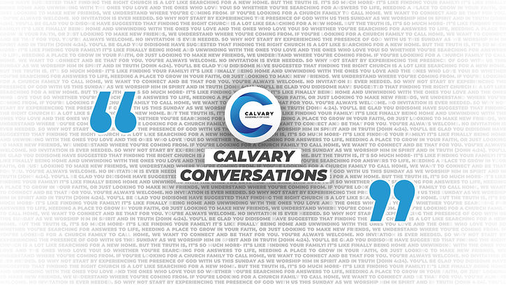 Calvary Conversations