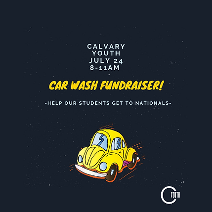 Calvary Youth Car Wash