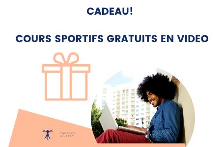Cours sportifs gratuits en vidéo!
