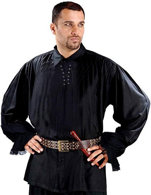 Pirategothic Men's Black Pirate Costume