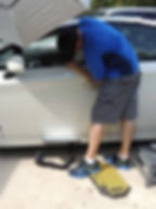Paintless Dent Removal (PDR), Dent Transformations, Mobile Dent Removal in Central Florida, Door Ding Repair