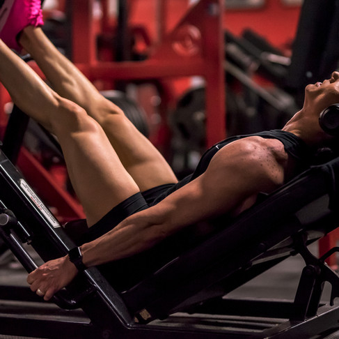 Leg Day with IFBB Pro April Cosimano