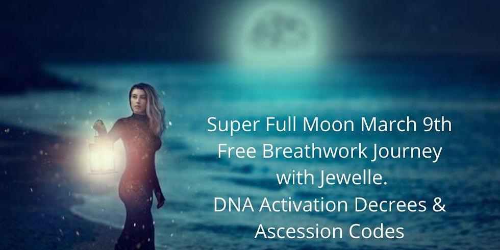 Full Moon Breathwork Journey March 9th