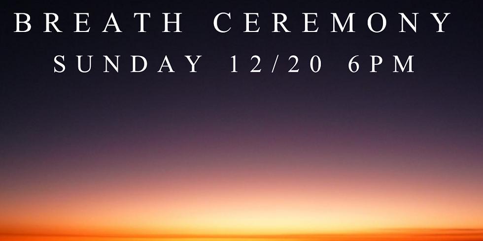 Goodbye 2020 Breath Ceremony