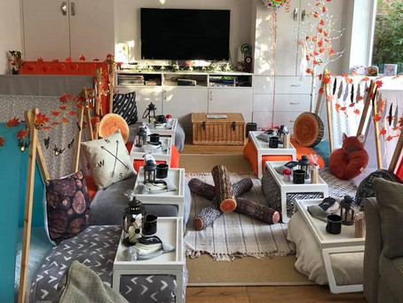 Top 5 indoor sleepover themes for autumn