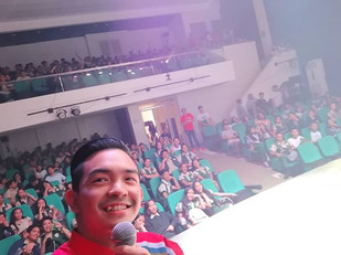 Some selfies with the audience from my r
