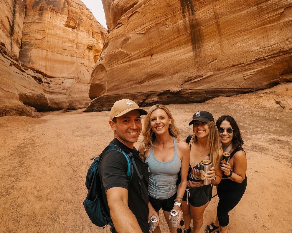 Antelope Canyon Slot canyon white claws