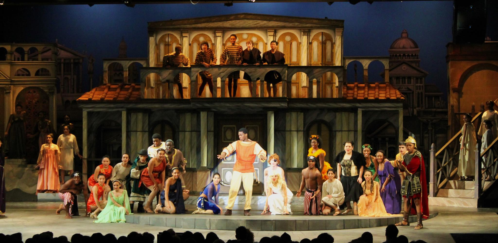 UHSPAC-Funny Thing Happened On the Way to the Forum - 2012