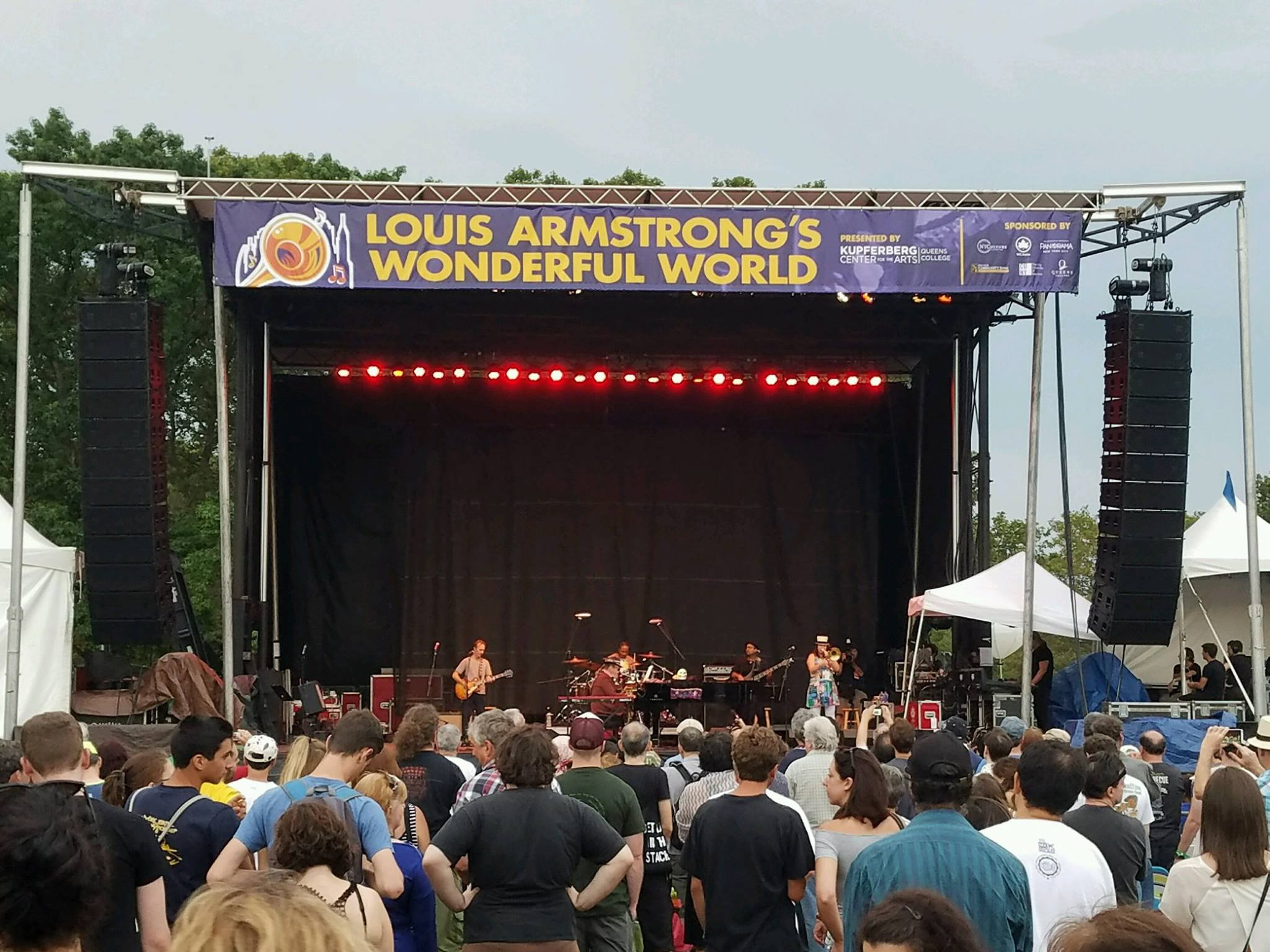 #LAWW2017 #ArmstrongFest Louis Armstrong's Wonderful World.3