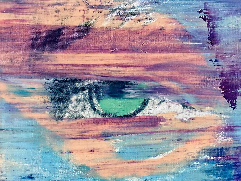 Ausschnitt eines Portraits der Serie FACES