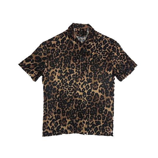 Camisa satinada oversize
