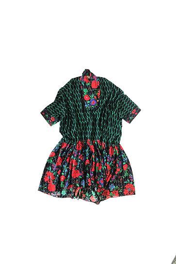 Vestido tunica flores