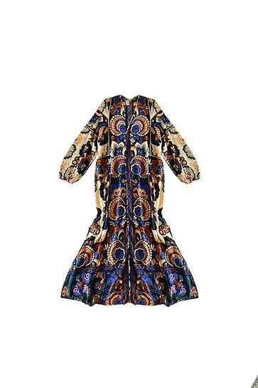 Vestido tunica print