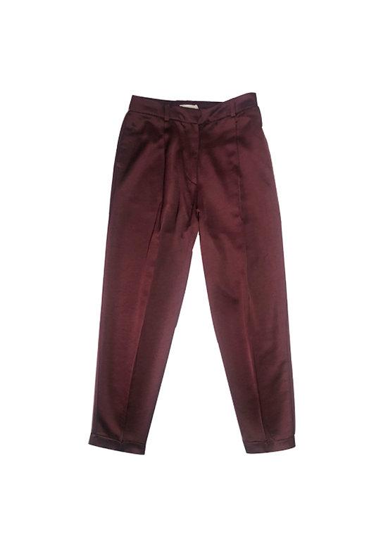 Traje-Pantalon burdeo