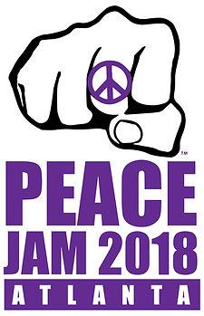 Peace Jam 2018 Logo