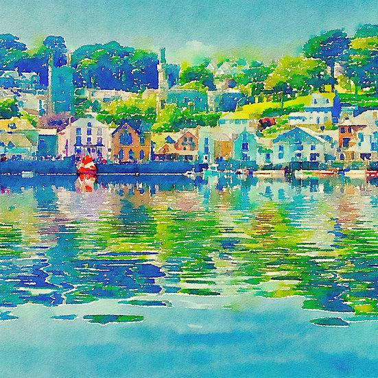 Fowey Watercolour