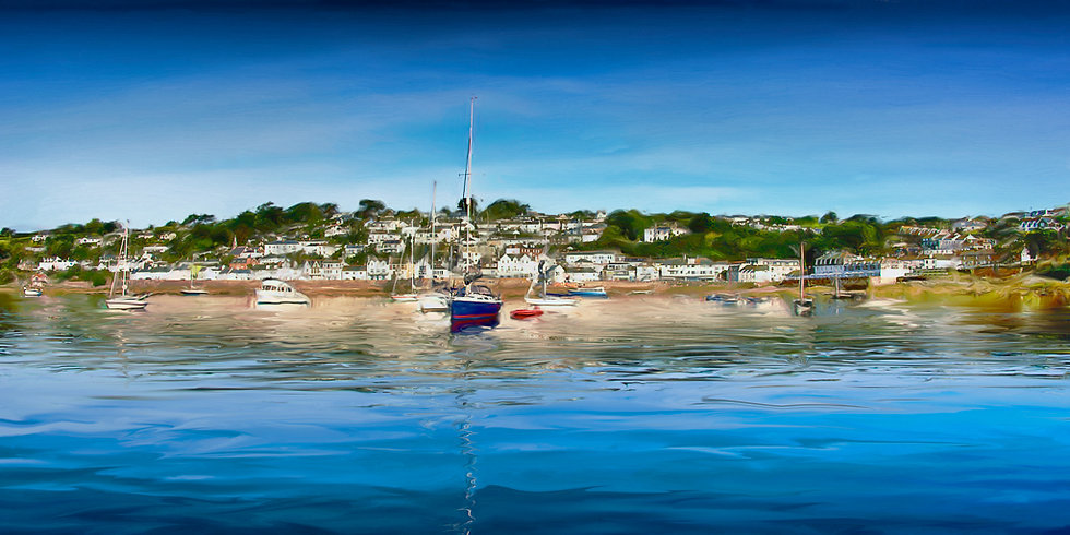 Reflections of St Mawes