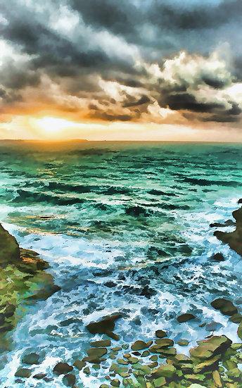 Stormy Seas Tintagel