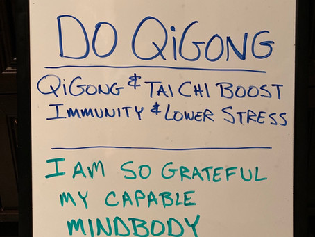 Keep Calm,  Do Qigong