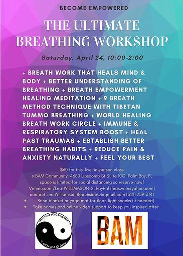 The Ultimate Breathing Workshop Beachsid