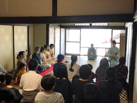 英語でお茶席 Tea Gathering in English