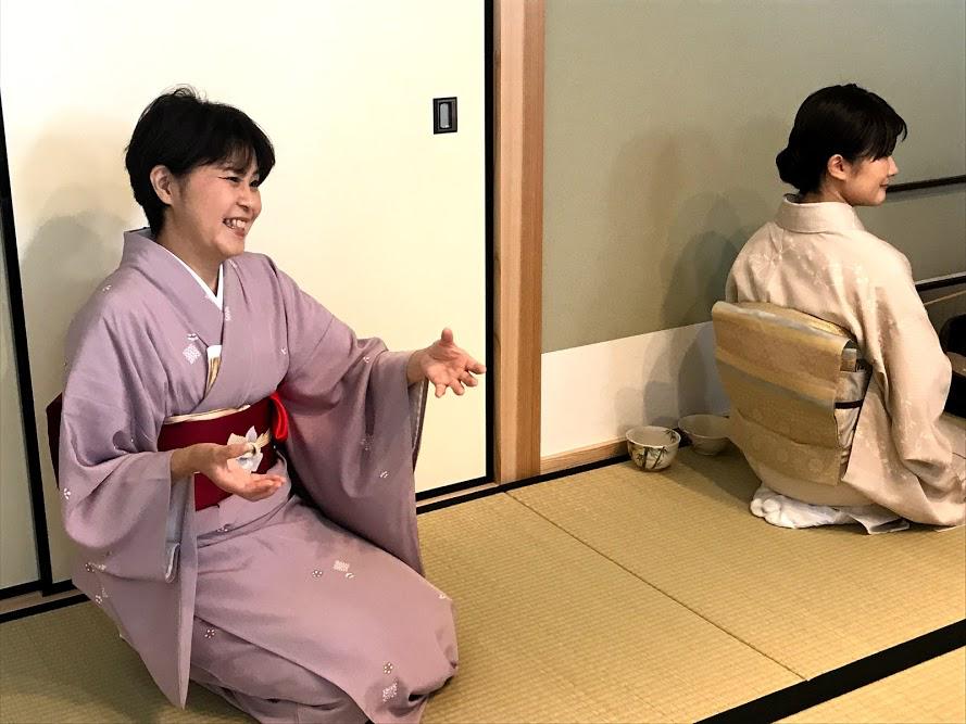 広島で茶道体験