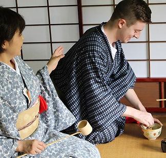 tea experience in Doshisha