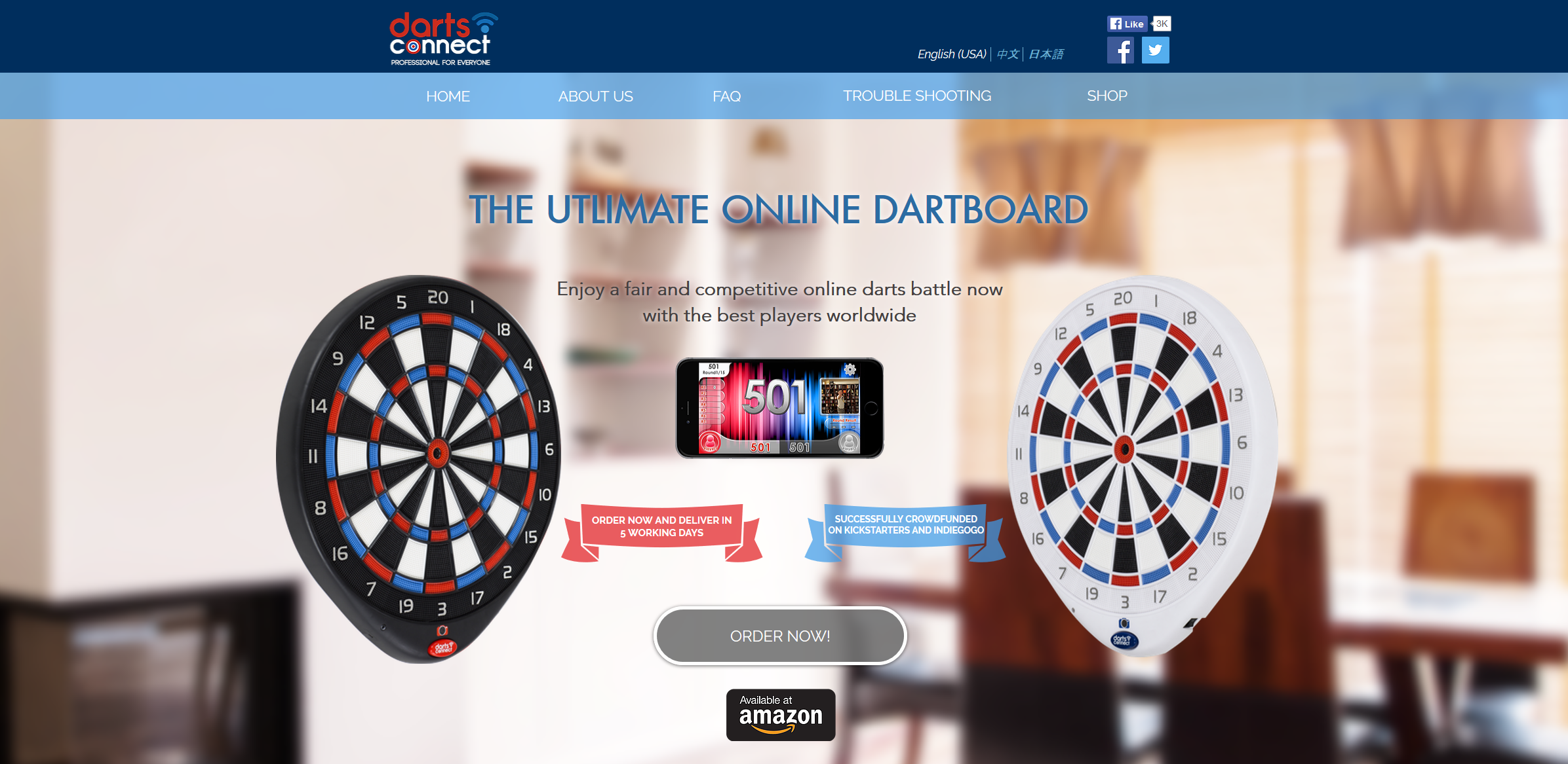 Darts Connect The Ultimate Online Electronic Home Dartboard