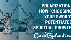 "Polarization: How ""Choosing Your Sword"" Potentiates Spiritual Growth"