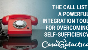 The Call List: A Powerful Tool for Overcoming Self-Sufficiency
