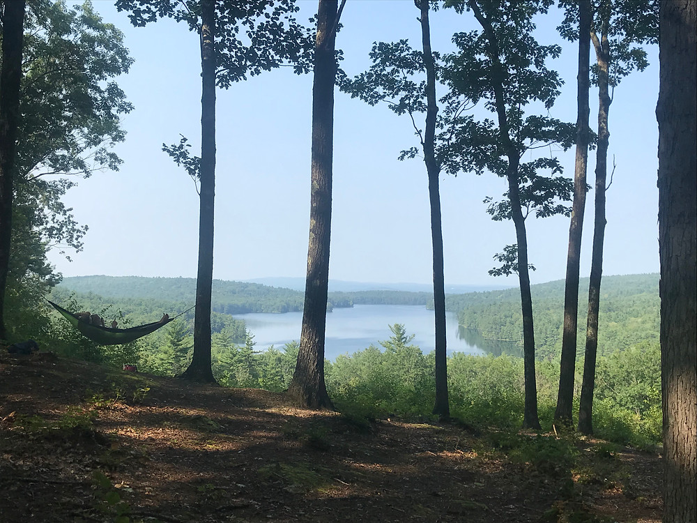 A view of a lake in Contoocook, New Hampshire, international students in us, blog,  alien thoughts