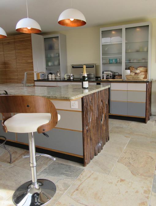 Contemporary Kitchen Furniture, Norfolk. 2016