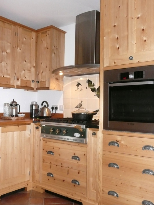 Reclaimed Pine Kitchen, Cambridgeshire. 2011