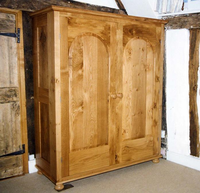 Sustainable Oak Wardrobe, Cambridgeshire. 1997