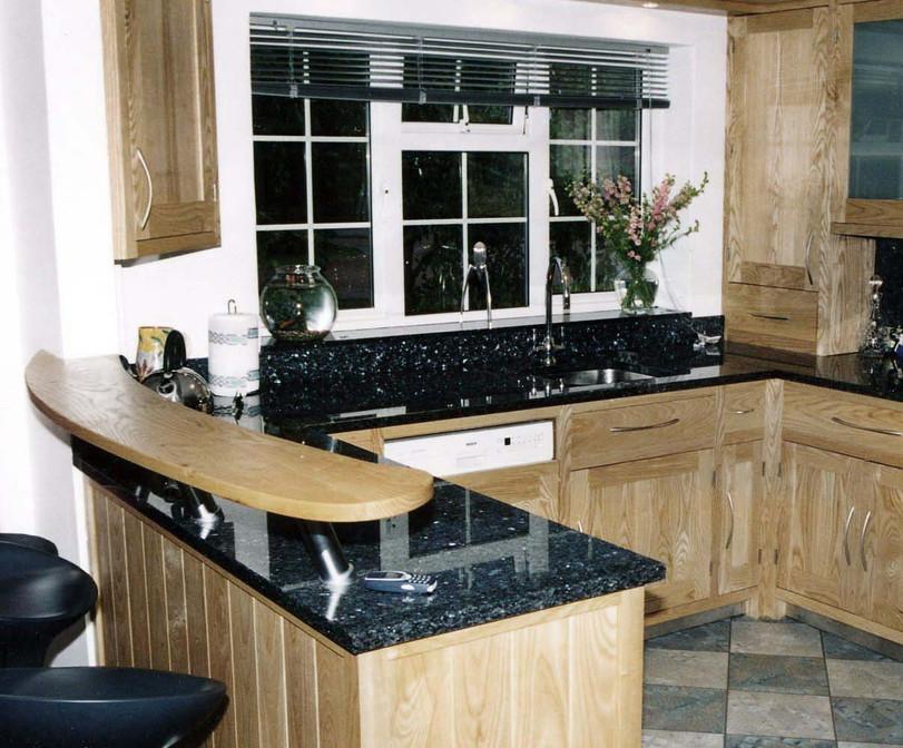 Sustainable Ash Kitchen Furniture, Cambridgeshire. 2002