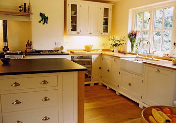 New from Old handpainted kitchen with ce