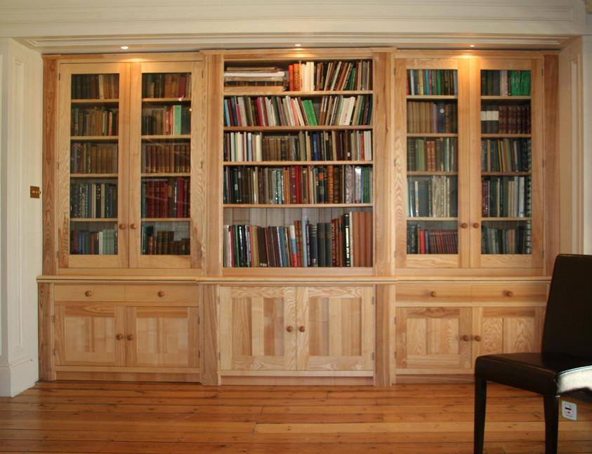 Sustainable Oak Bookshelves, Norfolk.  2006