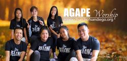 Agape Worship Team Banner (facebook cove