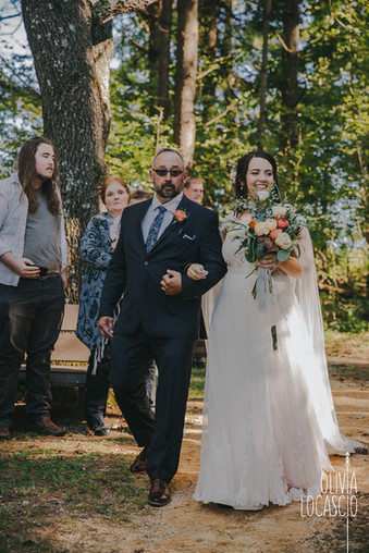 Wildcat Mountain State Park - amphitheater wedding