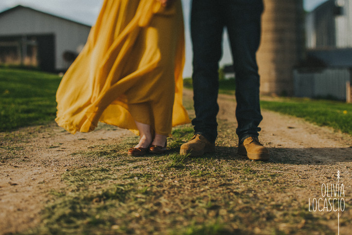 Wisconsin Engagement Photographer - Engagement Session Shoes