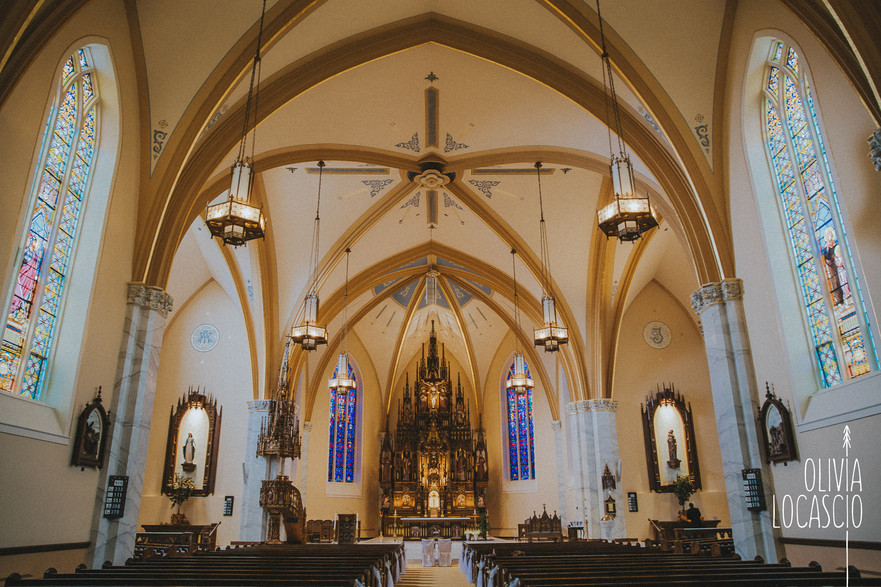 Sheboygan Wedding Photographers - Holy Name of Jesus Catholic Church - Mary Petrie
