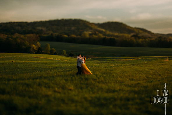Wisconsin Engagement Session - Wisconsin Sunset Engagement Photos