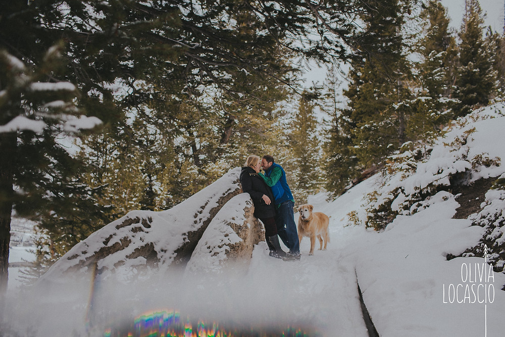 Sapphire Point Engagement Session - Sapphire Point Overlook Engagement Session