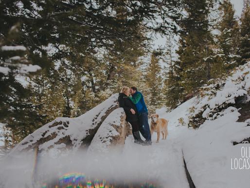 Sapphire Point Engagement Session | Breckenridge Engagement Photographer
